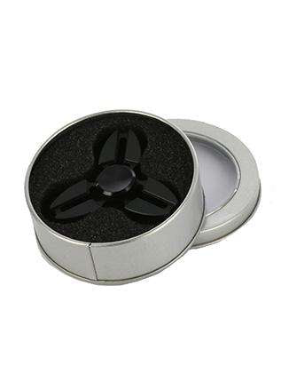 Birleana Black Metal Fidget Spinner