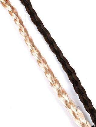 Braided Blond And Brunette 2 Pc Stretch Head Band