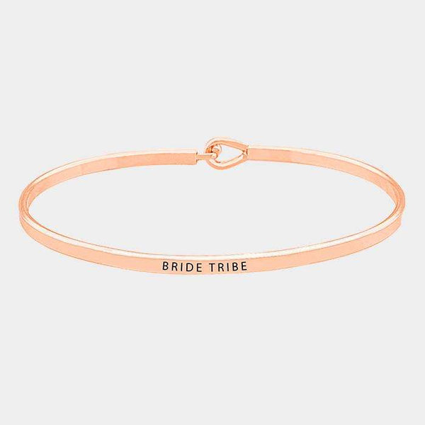 Bride Tribe Thin Metal Hook Bracelet