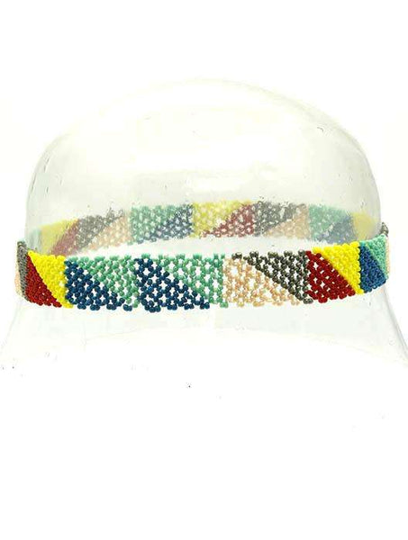 Caribbean Queen Beaded Elastic Head Bead