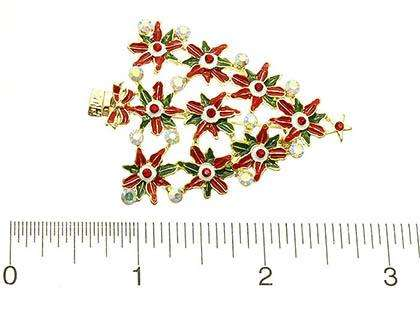 Christmas Tree Brooch