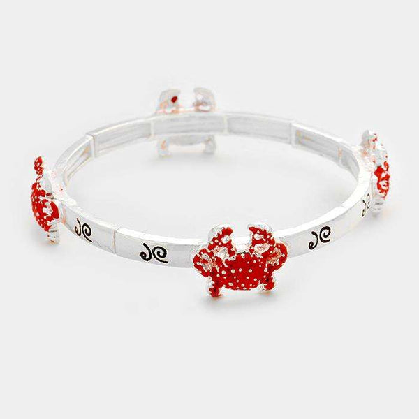 Crab Stretch Bracelet
