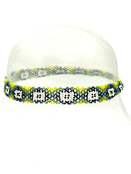 Diamond Eyes  Microbead Elastic Head Band
