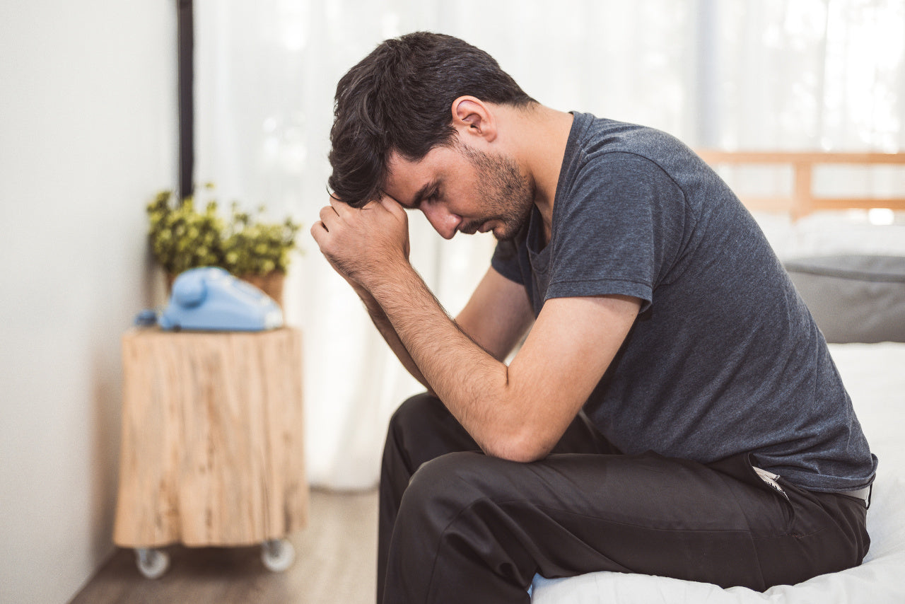 Male stress and anxiety