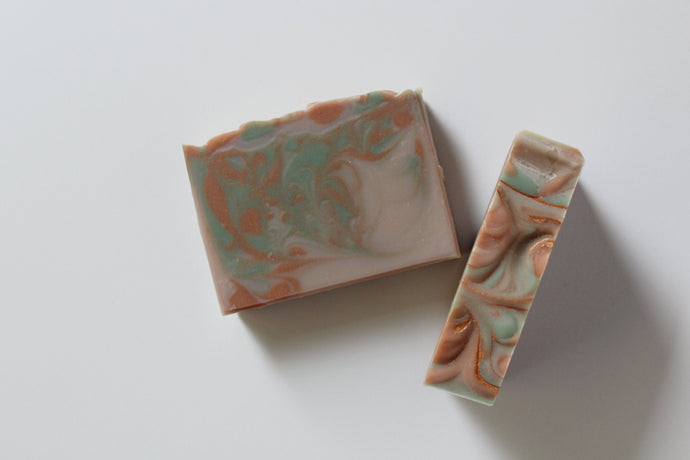 Tobacco + Bay leaf - Coconut milk soap