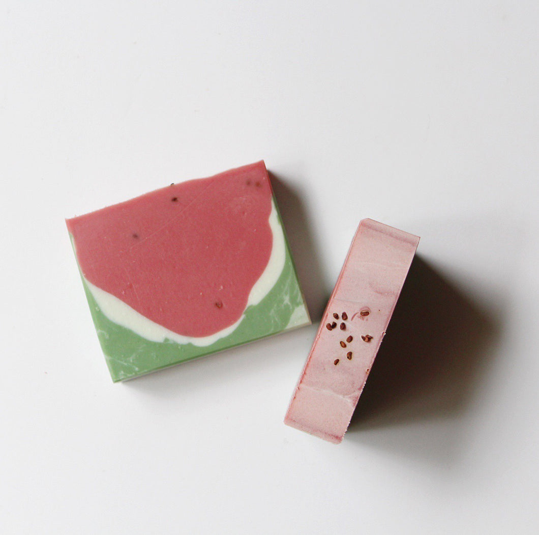 Summer Melon - aloe vera soap