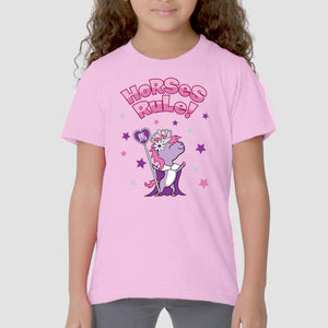 Year of the Horse - Ruling Beastees- Girls - Kids Fine Jersey Tee