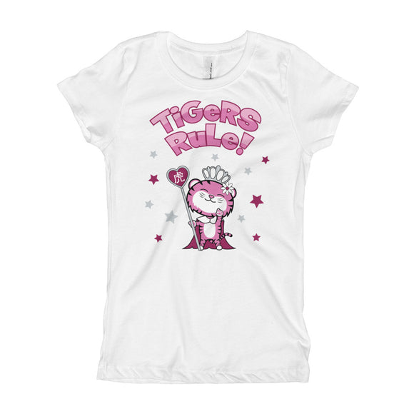 Year of the Tiger - Ruling Beastees - Girls Princess Tee