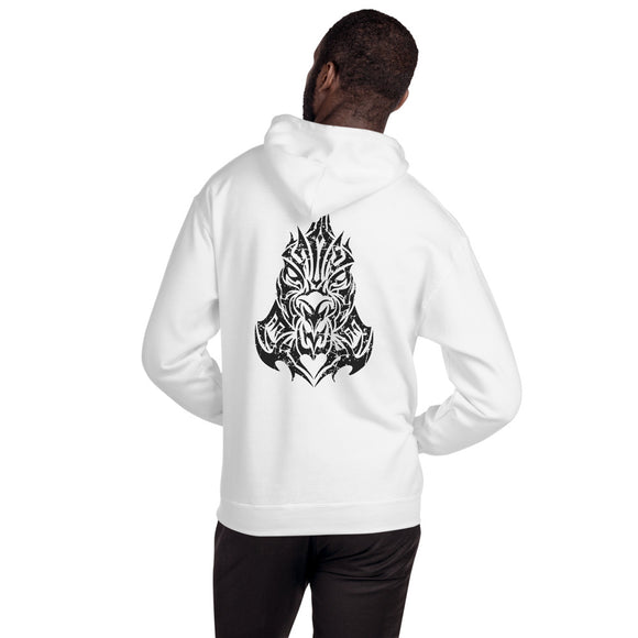 Year of the Rooster Tribal Design - Hooded Unisex Sweatshirt