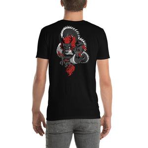 "Year of the Dragon Chinese Zodiac T-shirt  Lunar New Year ""Dragon Flight"" on back"