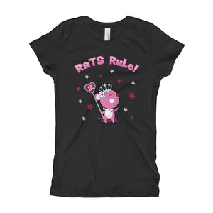 "Year of the Rat Chinese Horoscope Girls Princess Tee ""Ruling Beastees"""