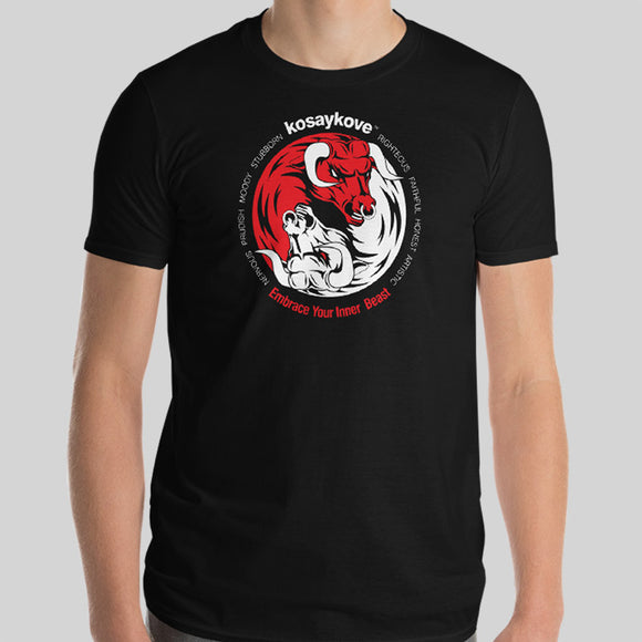Year of the Ox - YIN YANG Mens Unisex Premium Tee