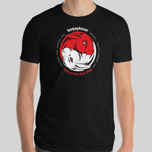 Year of the Rabbit - YIN YANG Mens Unisex Premium Tee