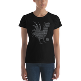 Year of the Rooster - TRAITS - Ladies Fashion Fit T-Shirt