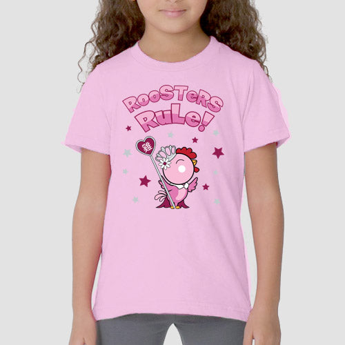 Year of the Rooster - Ruling Beastees- Girls - Kids Fine Jersey