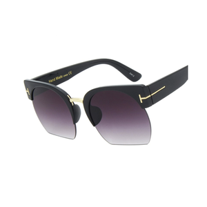 "UglyFace Female ""Clubmaster"" Browline Sunglasses"
