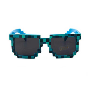 "UglyFace Unisex ""Eighties Babies"" Pixel Sunglasses"