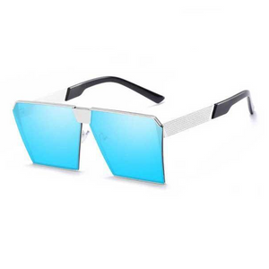 "UglyFace Female ""ShadyLady"" Oversized Mirror Sunglasses"