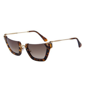 "UglyFace Female ""Pagliacci"" Semi-Rimless Sunglasses"