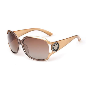 "UglyFace Female ""Macchiato"" Oval Sunglasses"