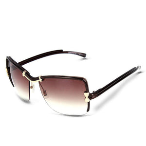"UglyFace Female ""Perfect Bow"" Square Sunglasses"