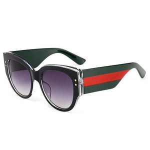 "UglyFace Female ""Boss Lady"" Butterfly Sunglasses"