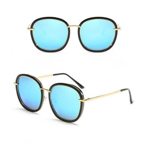 "UglyFace Female ""Mooshka"" Retro Square Polarized Sunglasses"