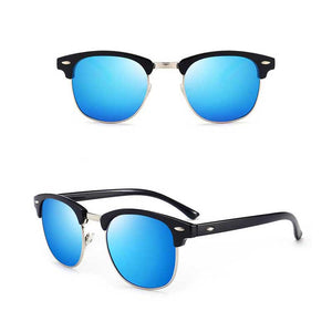 "UglyFace Male ""Crisp"" Vintage Polarized Sunglasses"