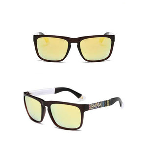 "UglyFace Male ""Hatchet"" Retro Square Sunglasses"