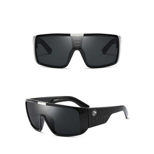 "UglyFace Unisex ""Cold Brew"" Shield Sunglasses"