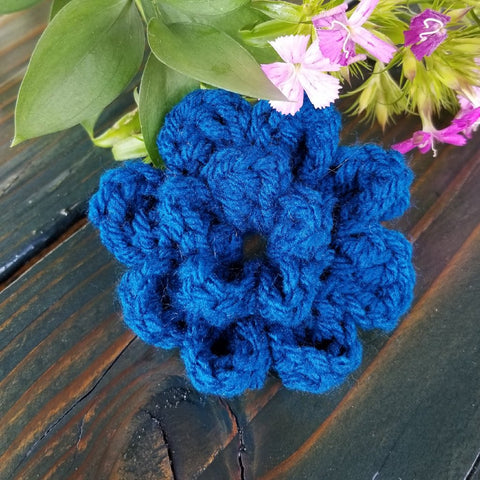 Crochet Collar Flower or Leash Flower