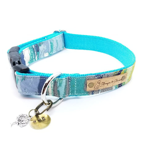 Turquoise Oil Slick Protego Collar