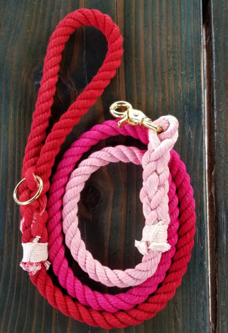 Valley of Roses Rope Leash