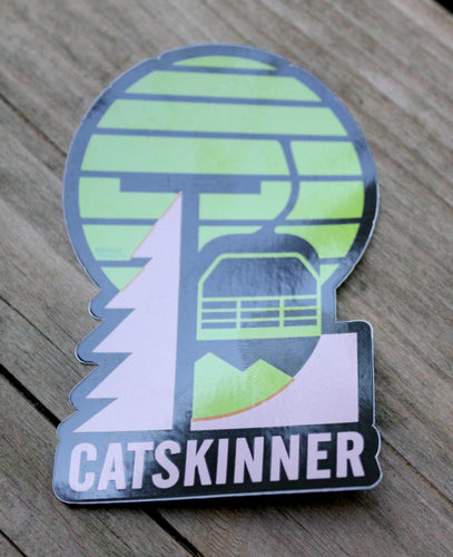 Catskinner Sticker