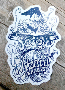 Wizard Express Sticker