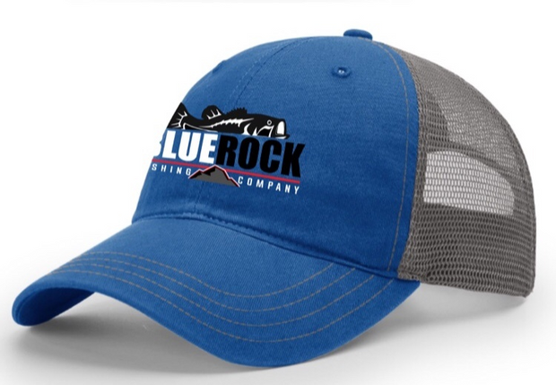 Blue Rock Custom Tackle Embroidered Hat