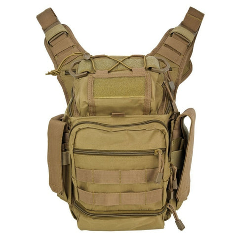 First Responder Tan Tactical Shoulder Bag