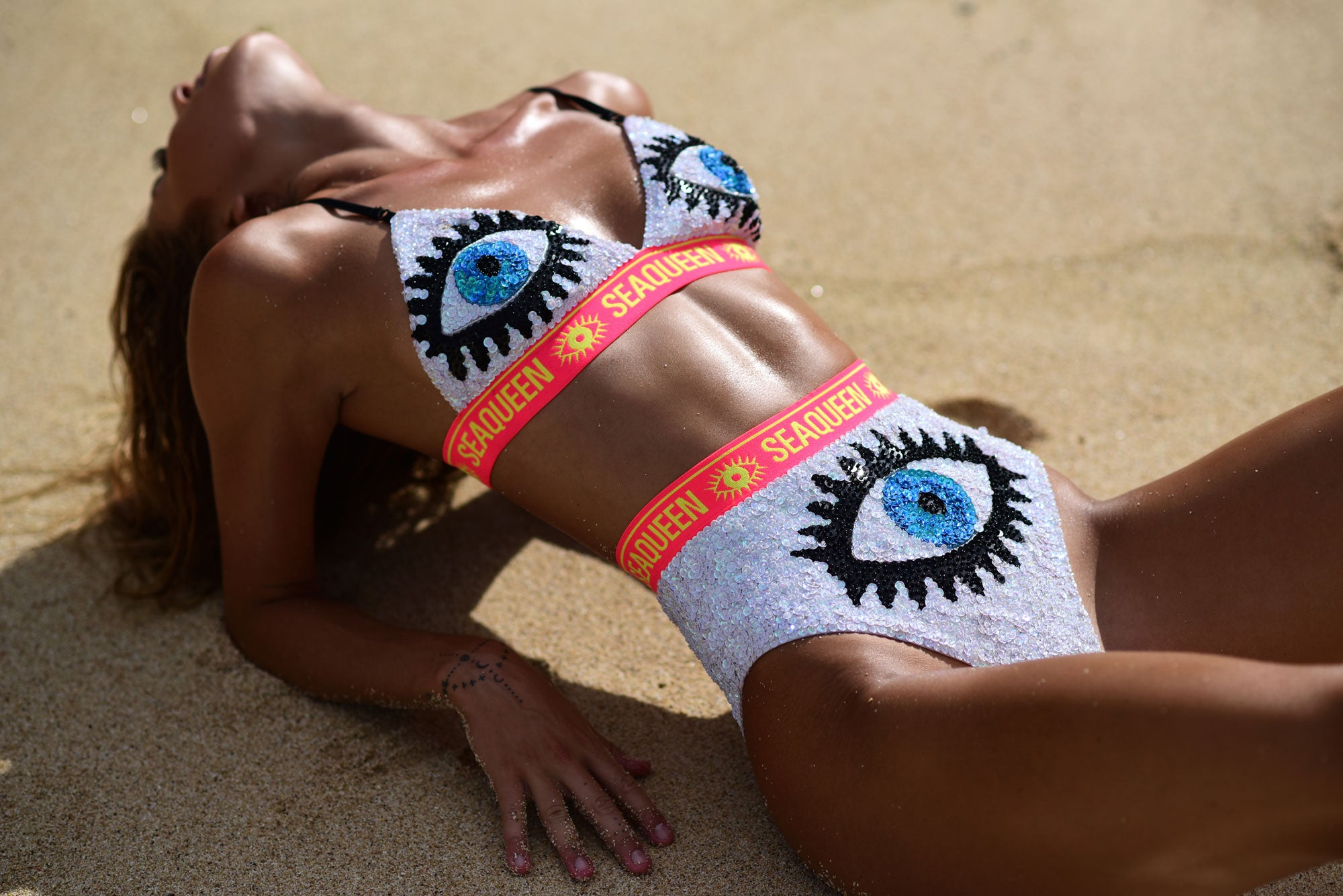Ava Bra - White Evil Eye