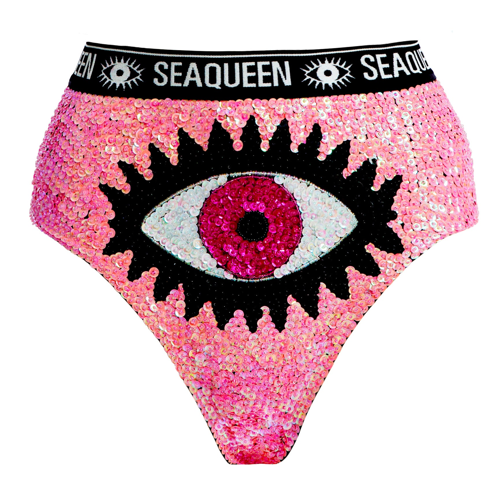 Venus High Cut - Pink Evil Eye
