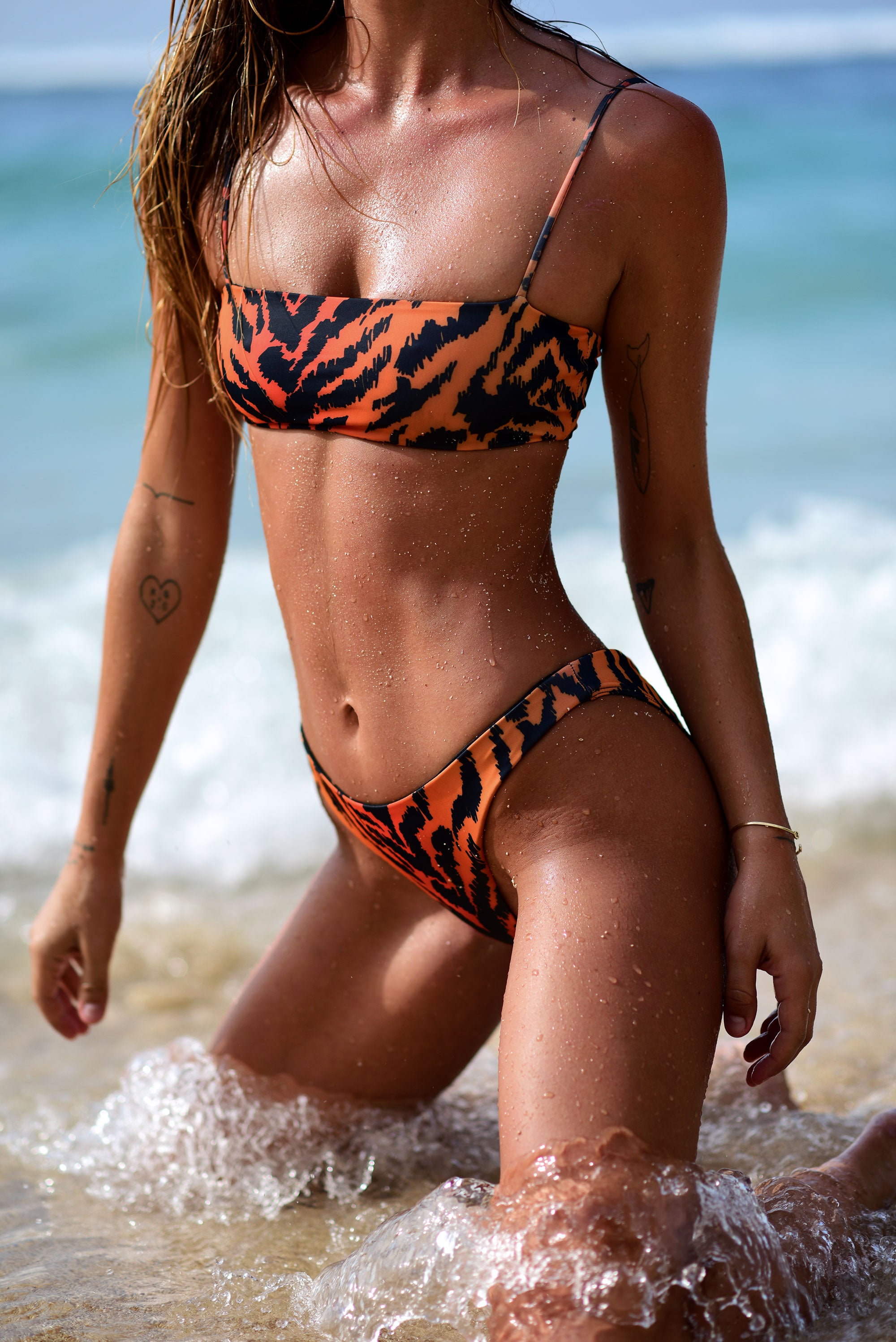 Siren Hipster Bottom - Tiger