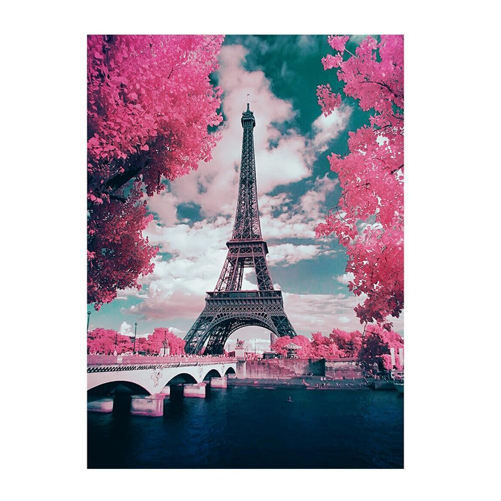 eiffel diy diamond 5d painting