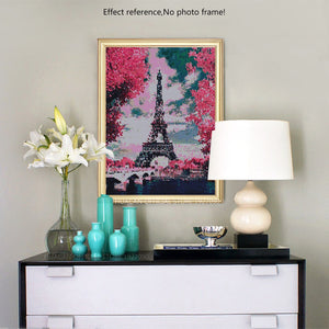 5D Diamond Painting - Eiffel Tower