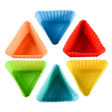 Load image into Gallery viewer, Silicone Cupcake Mold 12pcs set
