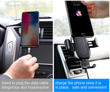 Load image into Gallery viewer, Wireless Charger Phone Holder