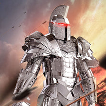 Load image into Gallery viewer, 3D Metal Black Knight DIY