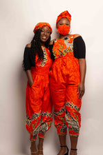 Load image into Gallery viewer, Ankara Print Overalls