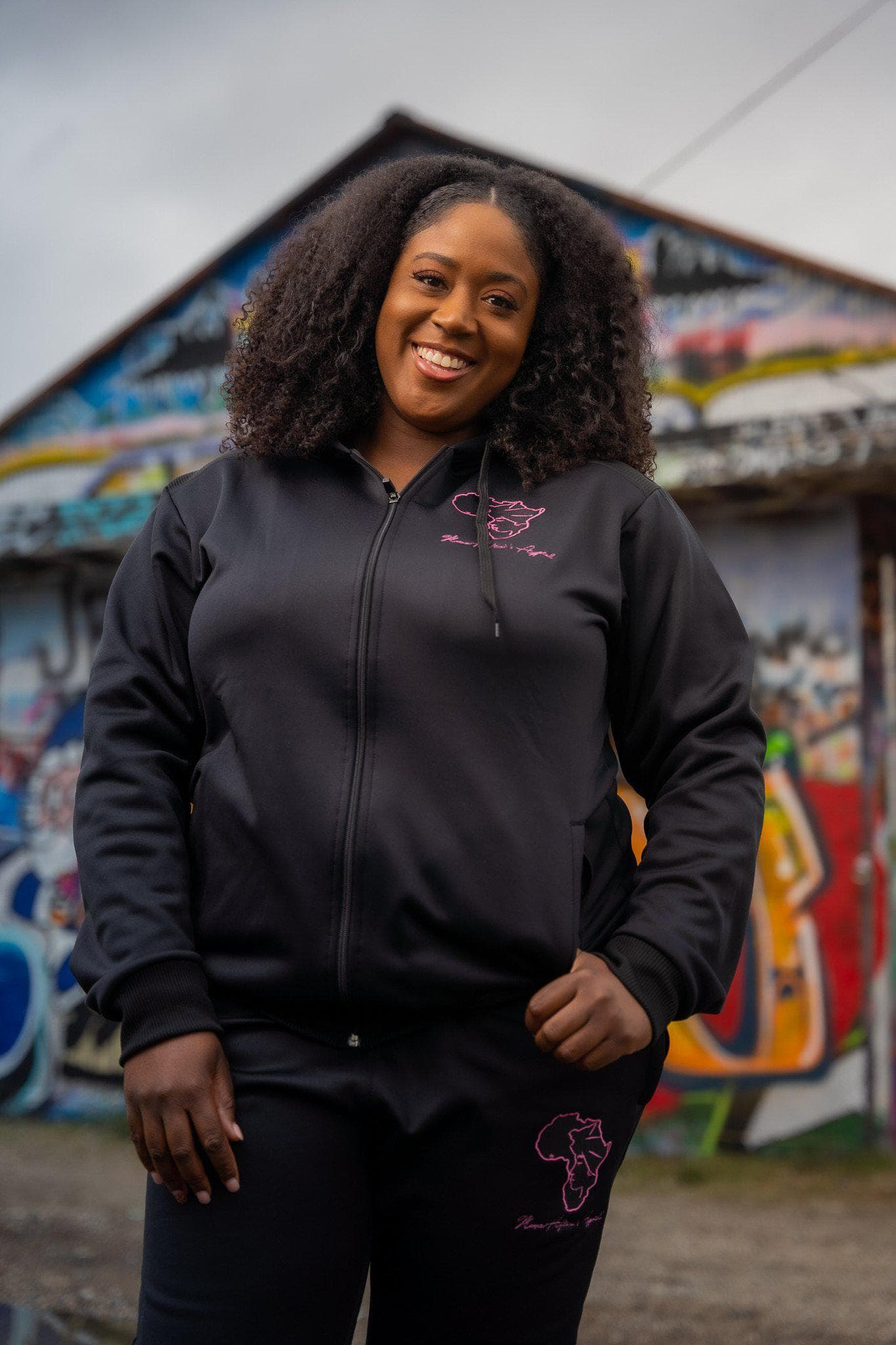 Mama Africa's Apparel ZipUp Tracksuit Winter Release