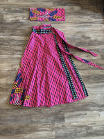 Load image into Gallery viewer, Ankara Maxi Skirt