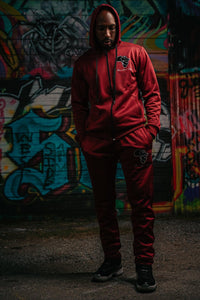 Mama Africa's Apparel Zip Up Hooded Tracksuit