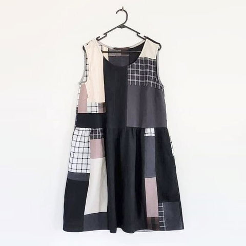 Patchwork Dress | Clever Sewing Projects To Upcycle Fabric Scraps